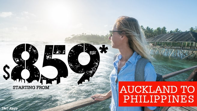 auckland to philippines cheap fare, auckland to philippines best deal
