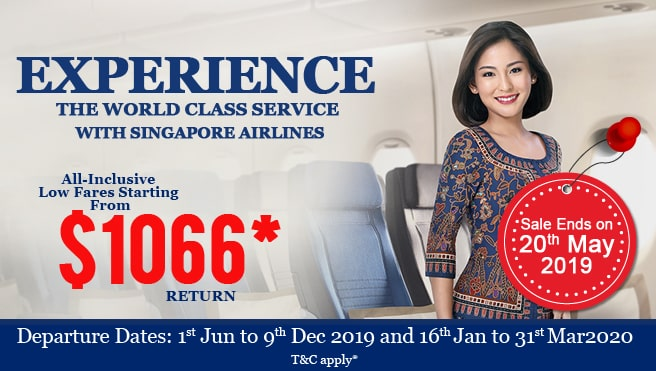 cheap flight from New Zealand to singapore