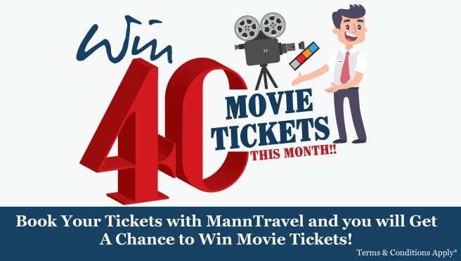 chance to win movie tickets